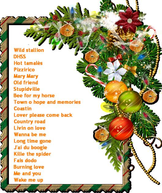 Notre premier bal -  21 décembre 2014