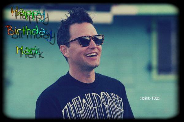 HAPPY BIRTHDAY MARK !♥