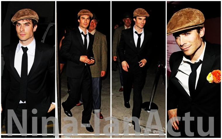24/03/2012 : Ian au 26th Annual Genesis Awards + Ian sortant du birthday de Perez Hilton + Info épisode 18