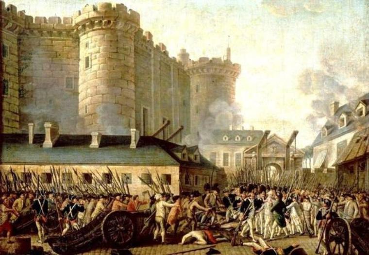 Bon 14 juillet, fête de la Fédération le 14 juillet 1790 au Champs de Mars