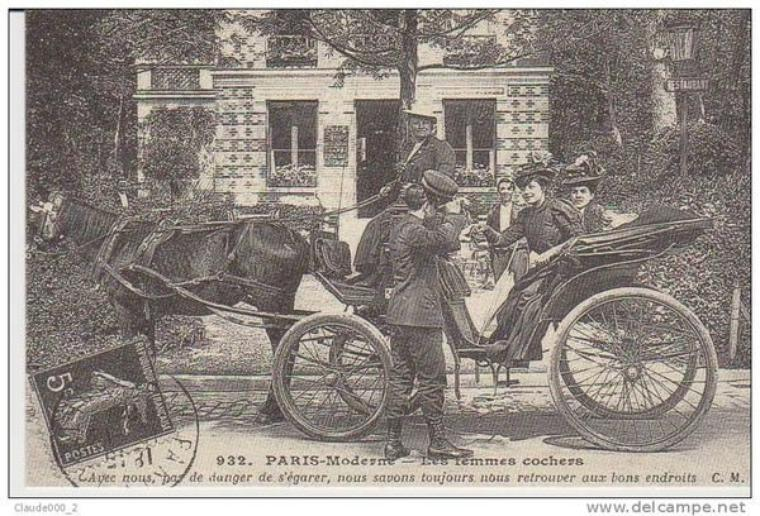 """Aujourd'hui, reprise de la série """"les vieux métiers"""", ici les petits métiers de Paris."""