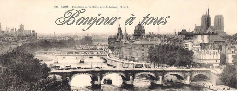 """Bonjour à tous, aujourd'hui, reprise de la série """"les vieux métiers"""", ici les petits métiers de Paris."""