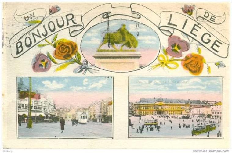 Bonjour à tous et à toutes, pour ceux qui ne la connaissent pas, voici la ville de Liège d'hier et d'aujourd'hui