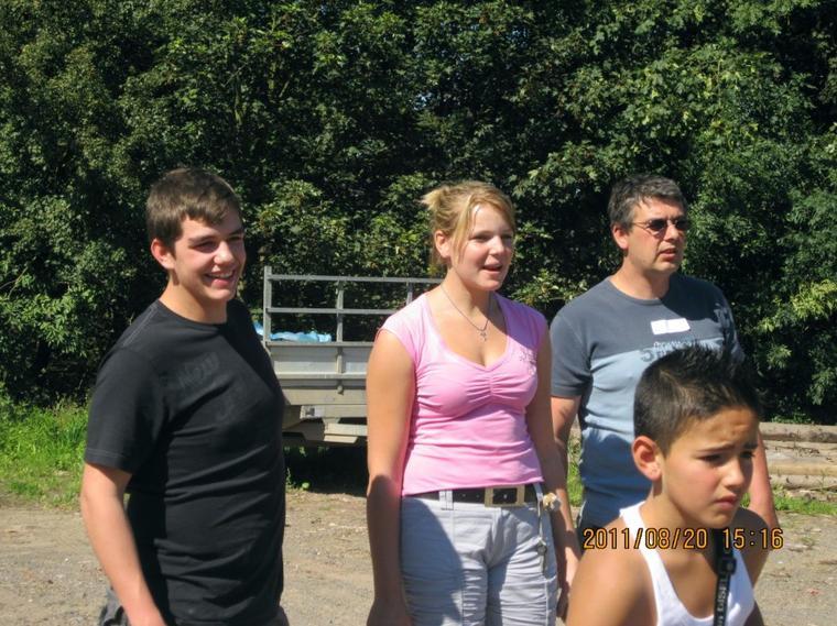 Aujourd'hui, quelques photos du 1er tournoi de pétanque organisé au manège El Cortijo