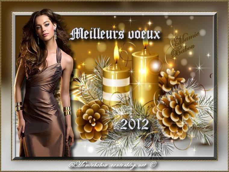 Bonjour mes ami(e)s, je vous souhaite une bonne nuit de réveillon à tous et à toutes et bonne année.