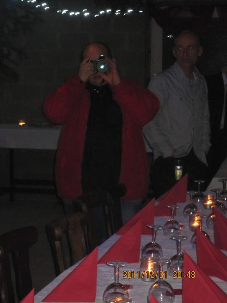 Une toute petite rétro du réveillon 2011 au manège El Cortijo