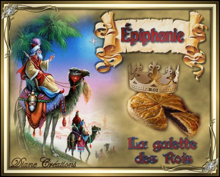 En ce jour de l'Epiphanie profitons-en pour mettre quelques gifs des rois mages et de la galette des rois.