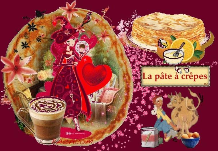 Bonjour à tous et à toutes, je vous souhaite une très bonne journée de Chandeleur. Mangez des crèpes !