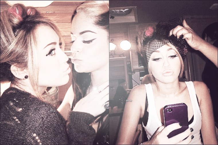 28/05/12 : Miley faisant du shopping avec Liam et Tish à Los Angeles.