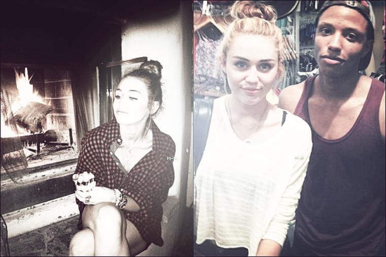 Découvrez les dernières photos personnelles provenant du compte twitter de Miley.