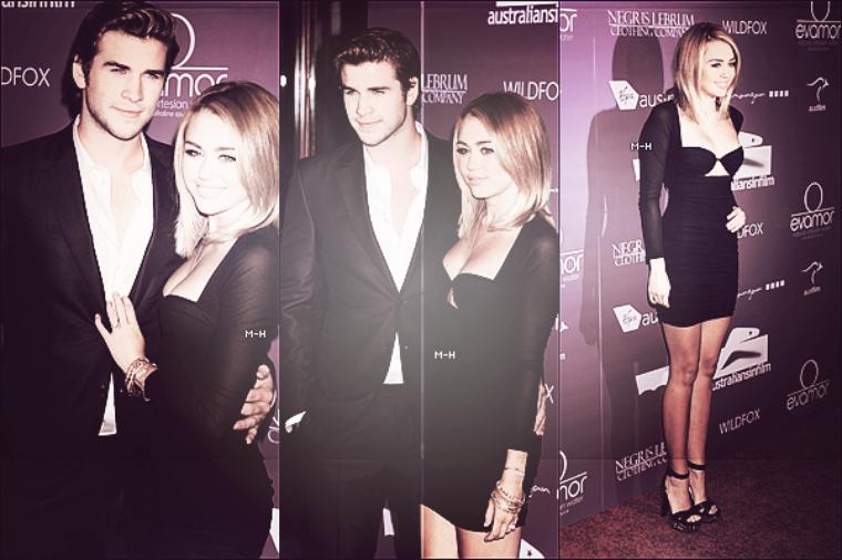 27/06/12 : Miley et Liam à l'event « Australians In Film Awards And Benefit Dinner » à L.A.