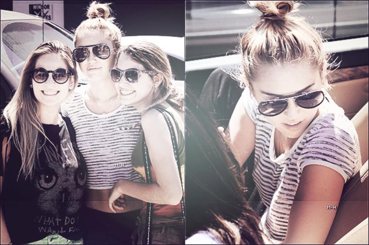 29/06/12 : Miley quittant de nouveau son cours de pilates dans West Hollywood.