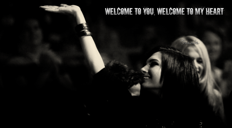 00 Welcome to you, welcome in my heart  1/2 00