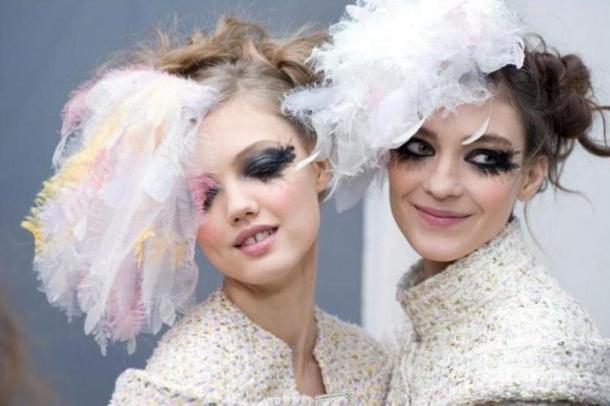 Chanel Fashion Week Haute Couture Printemps-Été 2013, le backstage beauté du défilé