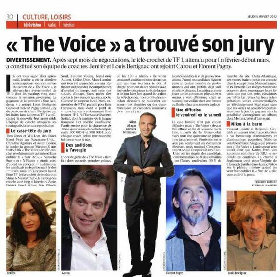 Les coachs de the voice
