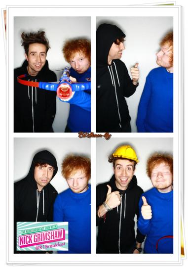 Ed à BBC Radio 1Xtra