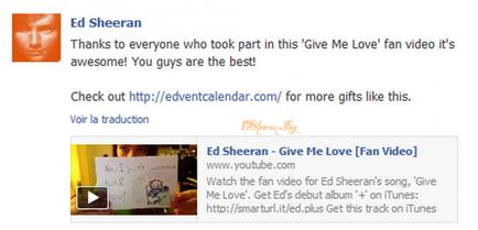 Vidéo-fan, Give Me Love