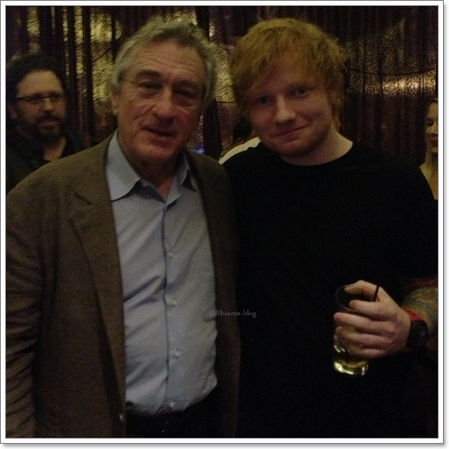 Ed rencontre De Niro