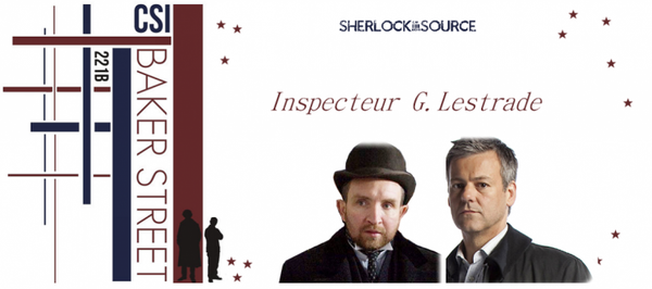 L'inspecteur G. Lestrade