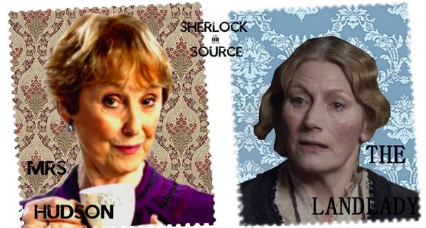 Mrs.Hudson, la fée du logis