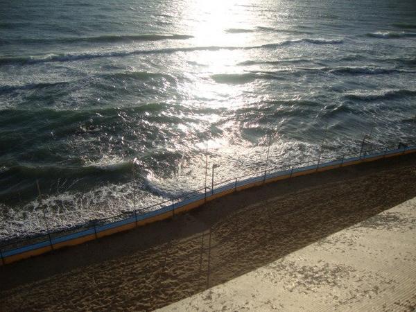 Couché de soleil d'Italie