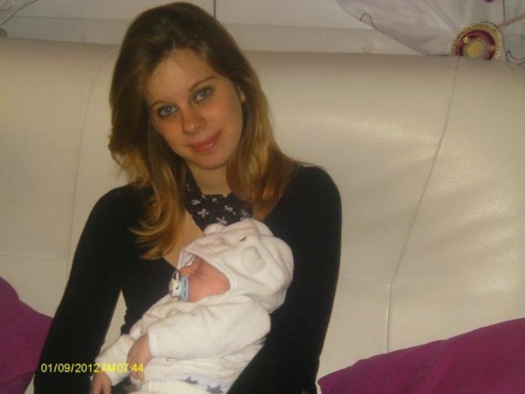 les deux ange de ma vie ma soeur jumelle et son fils jvous aiime telmen
