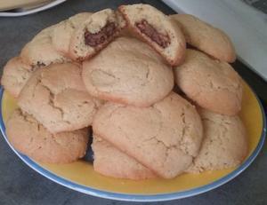 {Recette n°3} Petits biscuits fourrés au chocolat #Anaïs ♥