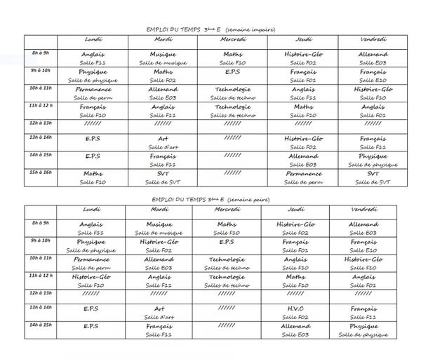Rentrée scolaire du Mercredi 04 Septembre 2013 ( de 8 h 00 à 12 h 00 )