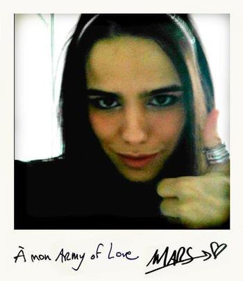 2012 Jun 3 - Vous êtes de plus en plus nombreux à suivre Melissa Mars sur Facebook !
