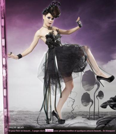 2011 Juil 11 - Melissa Mars nous livre ses secrets de beauté dans CLOSER