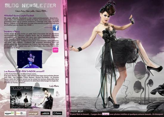 """2011 Jul 25 - Les remixes """"Et je veux danser"""" sont pour bientôt !"""
