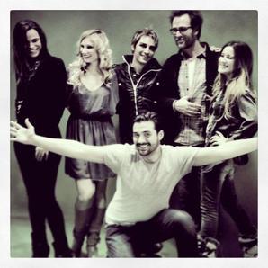 2013 Jan 15 - Retrouvailles pour la troupe de Mozart l'Opéra Rock