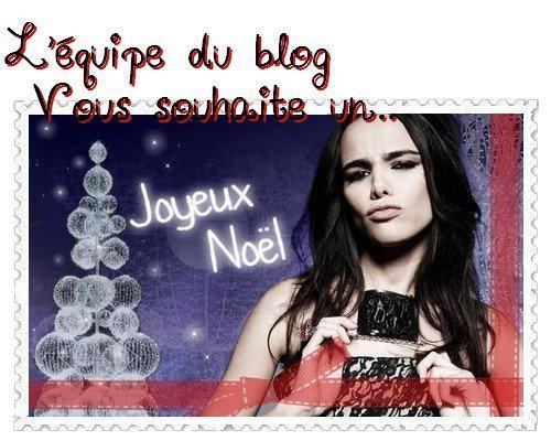 2011 Dec 20 - L'équipe vous souhaite un Joyeux Noël !