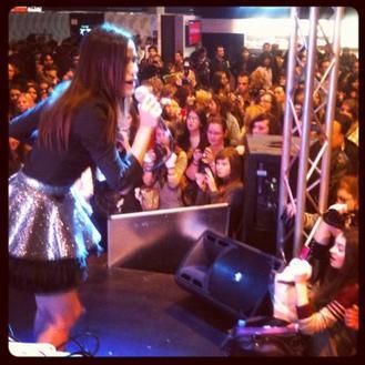 2012 Nov 5 - Retrouvez les photos de Melissa Mars à Music Expo Expérience