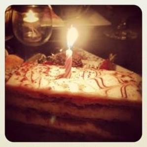 2013 September 03 - C'était l'anniversaire de Melissa Mars !