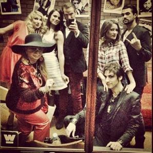 2013 Octobre 13 - Cette semaine sur l'Instagram de Melissa Mars