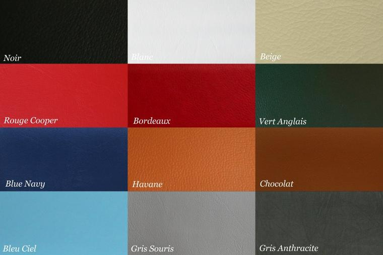 "Tableau de bord MINI - Simili Cuir - Modèle ""Classic Leather"""