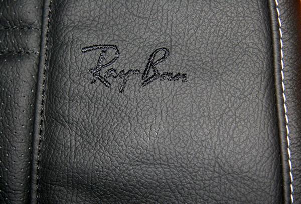 Quelques clichés des réalisations pour l'intérieur de la MINI Rayban de Serge