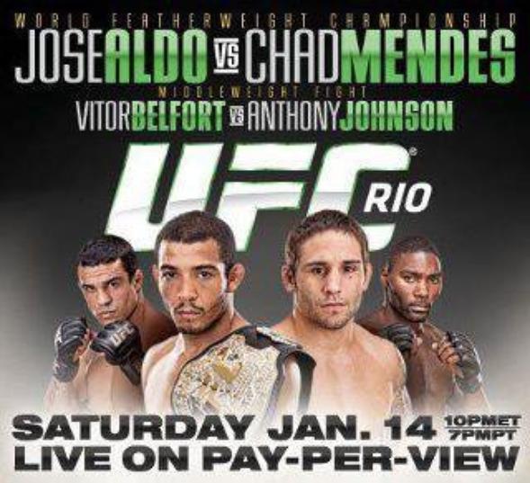 ce soir UFC BRAISIL 2012