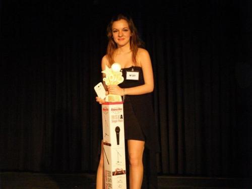 Gagnante des voix d'or des corbières 2013