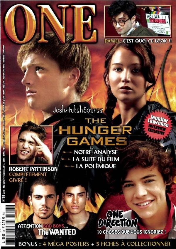 The Hunger Games dans le magazine One !