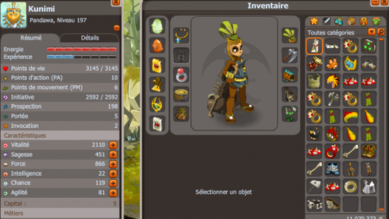 Stuff de ma team #Dofus