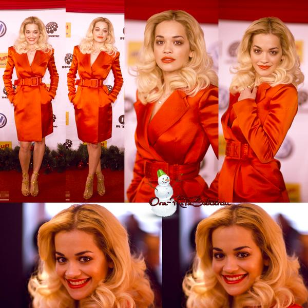 30 Nov. 2012 : Rita à un show musical en Allemagne.