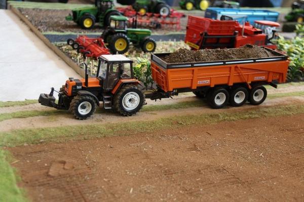 1ere expo Miniatures Agri à Algolsheim (68)