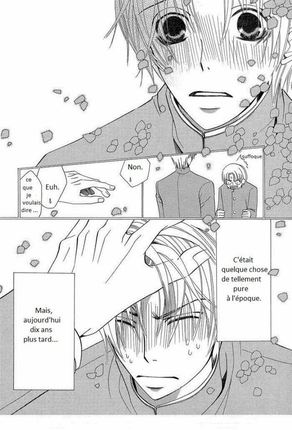 Sekaiichi Hatsukoi chapitre 1 (partie 1)