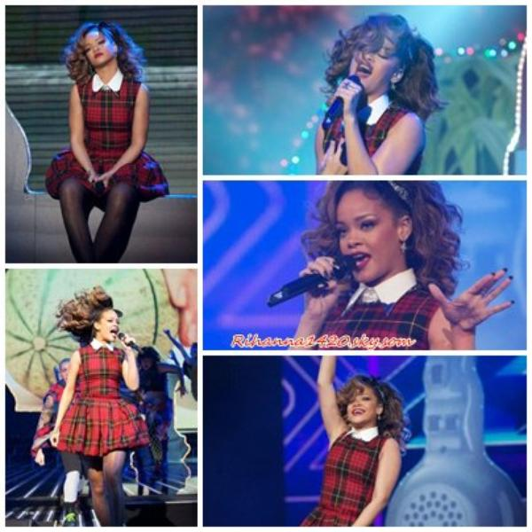Rihanna a X Factor UK !!!