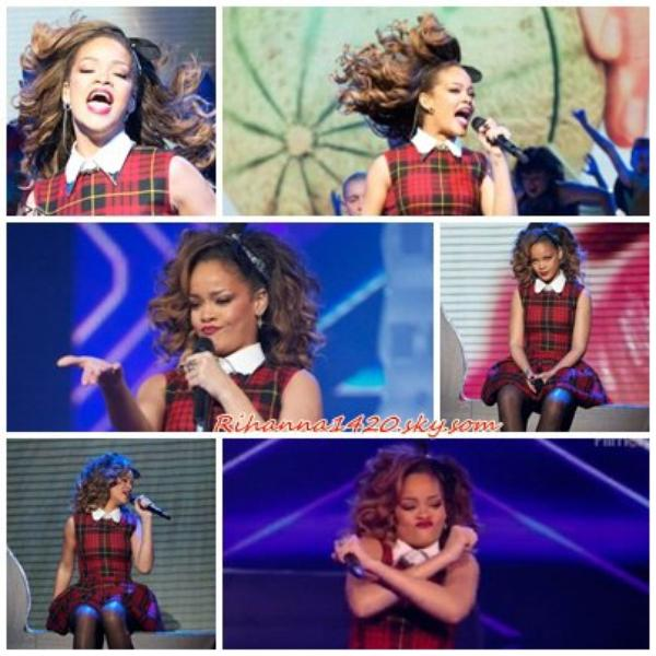 Rihanna a X Factor UK !!!