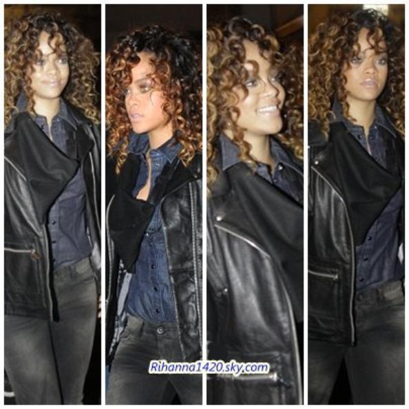 Rihanna est redevenue brune + loud tour a Milan le 12/12/11
