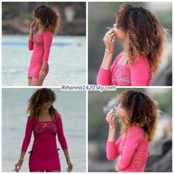 Rihanna en vacances a Hawai ( 2)