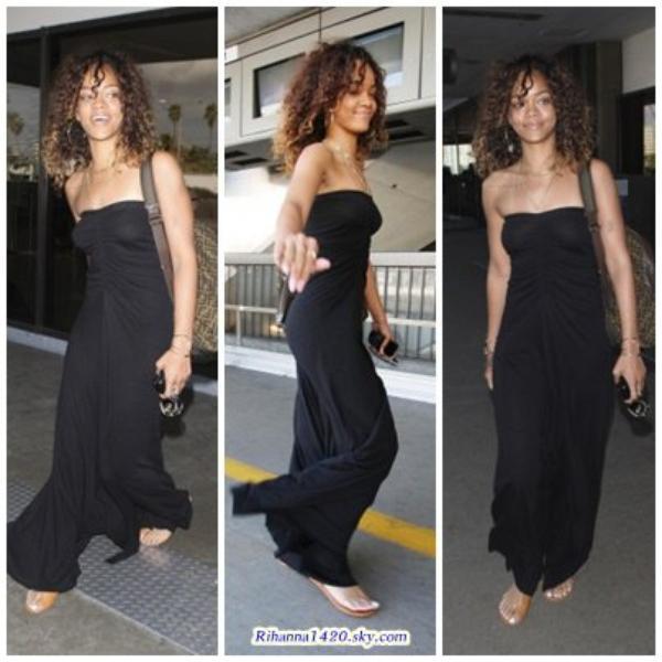 Le retour de Rihanna a L.A!